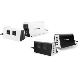 Xtreme 2-Outlet Power Station with 4 USB Ports