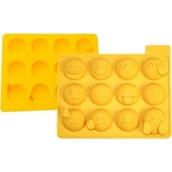 Reusable 12 Different Emoji Ice Cube Tray