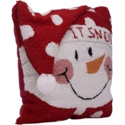 Christams Hooked Pillow