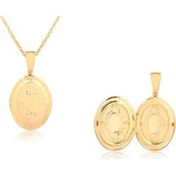 Women's 18K Gold Plated Locket By Euphir