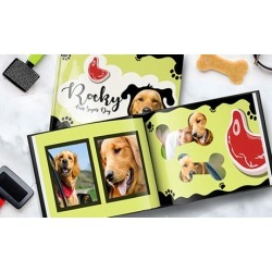 Two Personalized Dog or Cat Photo