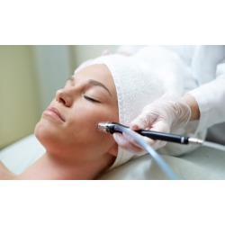 DermaSweep Facial Treatment with Optional Facial or Facial and Peel at Facelogic (Up to 73% Off) found on MODAPINS from groupon for USD $51.00