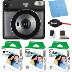 Fujifilm instax Square SQ6 Instant Camera w/ Accessories - Gray