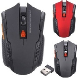 2.4Ghz Mini Wireless Optical Gaming Mouse Mice USB Receiver