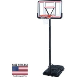 "Lifetime 44"" Pro Court Portable Basketball System"