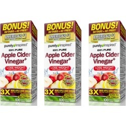 Purely Inspired Apple Cider Vinegar Weight Loss Supplement (1, 2, or 3-Pack)