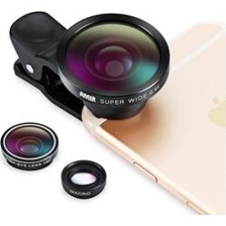 3 in 1 Fisheye Lens Plus Macro Lens