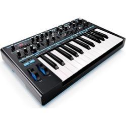 Novation 25-Key Monophonic MIDI USB Analog Keyboard Synthesizer