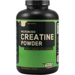 Optimum Nutrition Unflavored Micronized Creatine Powder