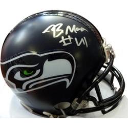 Autographed Byron Maxwell Seattle Seahawks Mini Helmet