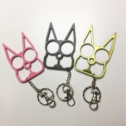 Cat Self Defense Keychains
