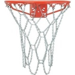 Brybelly Holdings SBAS-301 Outdoor Galvanized Steel Chain Basketball