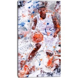 Basketball Play - Street Art Canvas
