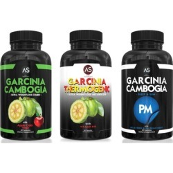 Angry Supplements Garcinia Cambogia with Apple Cider Vinegar, Garcinia Thermogenic, and Garcinia PM (3-Pack)