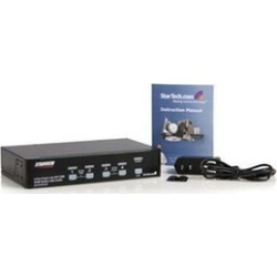 Startech SV431DVIUAHR 4 Port USB KVM Switch w Audio