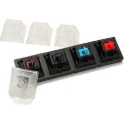 Mechanical Keyboards Switch Tester Set 4 Clear Cherry MX Switches