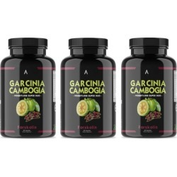 Angry Supplements Garcinia Cambogia with Forskolin (1, 2, or 3-Pack)