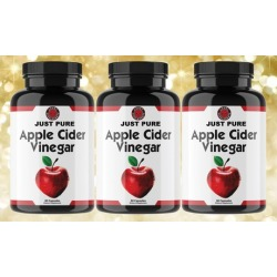 Angry Supplements Just Pure Apple Cider Vinegar (1, 2, or 3-Pack)
