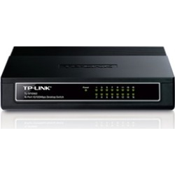 TP-LINK TL-SF1016D 16-Port 10 100Mbps Desktop Switch, 3.2Gbps Capacity found on Bargain Bro India from groupon for $39.99