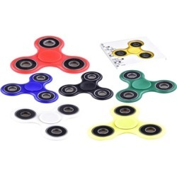 Spinner Fidget Spinner Hand Spin Finger Spin Stress Desk Toy (6 Pack)