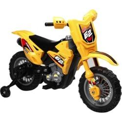 Yellow 6V Dirt Bike