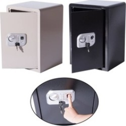 Large Biometric Fingerprint Electronic Safe Box Digital Lock Cash Home found on Bargain Bro India from groupon for $450.00