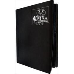 Monster Binders 4PMBK Binder 4 Pocket Monster - Matte Black