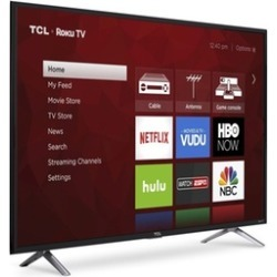"TCL 49"" 4K UHD Roku Smart LED TV (2017 Model) (Refurbished)"