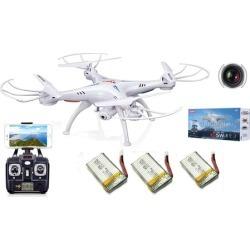 3Battery Syma X5SW WiFi FPV RC Quadcopter Drone 2MP HD Camera Headless