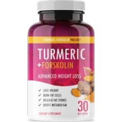 Turmeric-Forskolin Pro Diet - Weight Loss Turmeric + Forskolin Pills