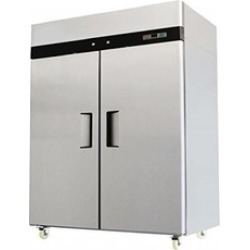 "52"" Double 2 Door Side By Side Commercial Refrigerator, 49 cu ft"