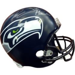 Autographed Lofa Tatupu Seattle Seahawks Mini Helmet