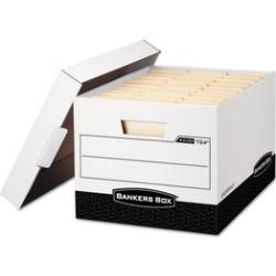 Bankers Box R-KIVE Max Storage Box, Locking Lid, 12 Pk