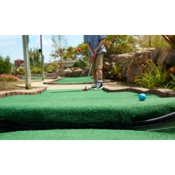 Round of Mini Golf and Ice Cream for Two, Four, or Six at Whistlestop Miniature Golf Course (Up to 54% Off)