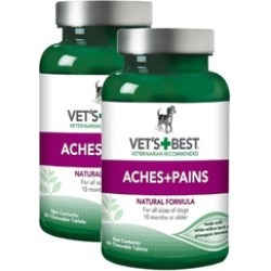 Vet's Best Aspirin Free Aches and Pains Dog Supplements, 2 Pack
