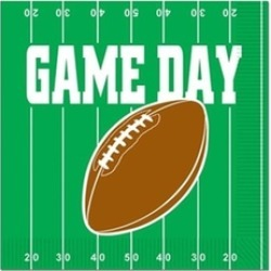 Beistle 58119 Game Day Football Luncheon Napkins