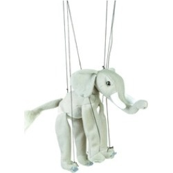 Sunny Toys WB339 16 in. Baby Elephant, Marionette Puppet