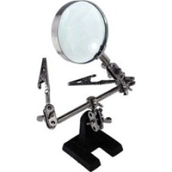 Clamp Magnifying Glass Repair Fly Soldering Hand Hands Tool Jewelry
