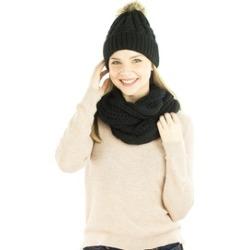 Women's Winter Hat & Infinity Scarf Set