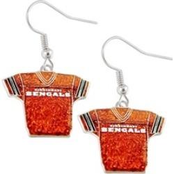 Sports Team Logo NFL Glitter Jerseys Sparkle Dangle logo Earring Set Charm Gift