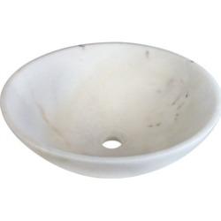 MR Direct 850-White White Granite Vessel Sink