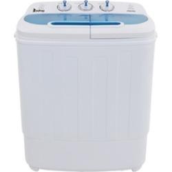 Mini Compact Twin Tube Washing Machine Masher Spin Cycle 13lbs Capacit