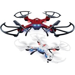 TechComm Chaser Quadcopter Drone with Auto Hover Function and Optional 0.3MP Camera