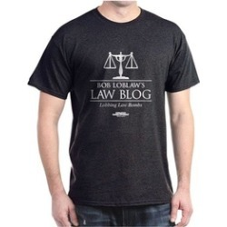 CafePress Bob Lablaw's Law Blog T-Shirt found on Bargain Bro India from groupon for $9.98