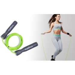 Adjustable Length Jump Rope with Built-in Counter, Anti-Grip Handles & More