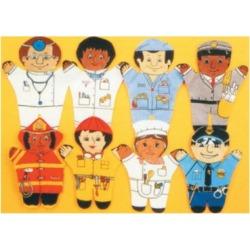 Dexter Educational Toys DEX850W Community 8 Piece Puppet Set