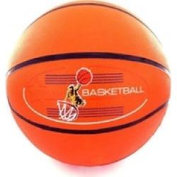 """Bulk Buys OA579-20 12"""" Orange Rubber Basketball - Pack of 20"""