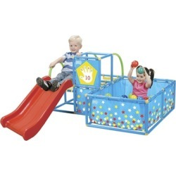 National Sporting Goods TM300 Active Play Gym Set - Red or Green