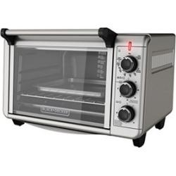 Countertop Convection Toaster Oven, Silver