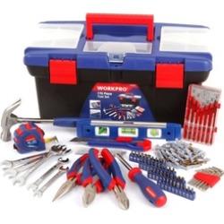170PC Mechanic Tool Set Home Repair Kit